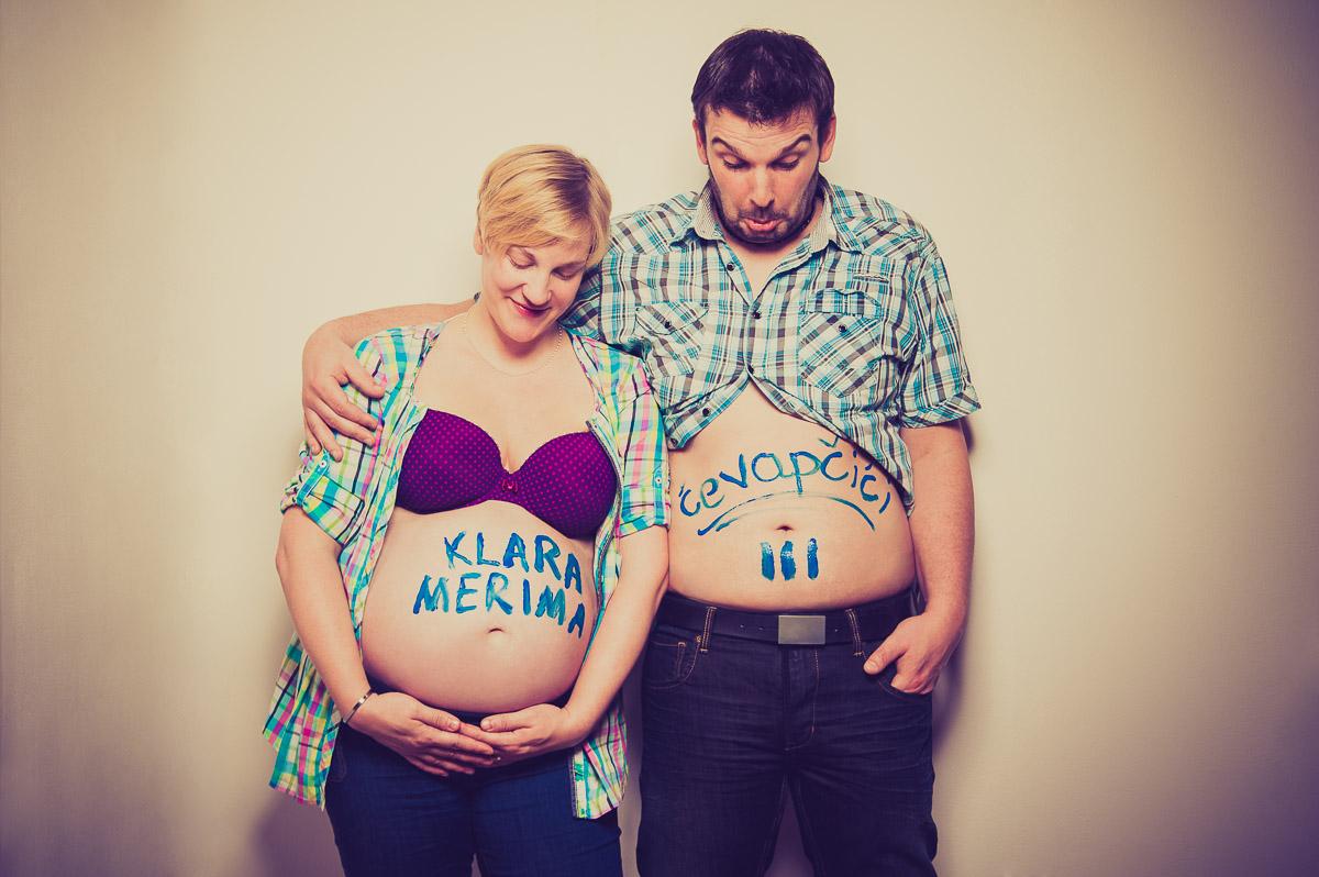 Ausgefallene und kreative Fotoshooting in der Schwangerschaft